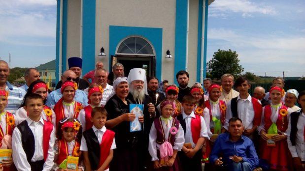 В праздник Вознесения Господня митрополит Ириней посетил Васильковское благочиние Днепропетровской епархии