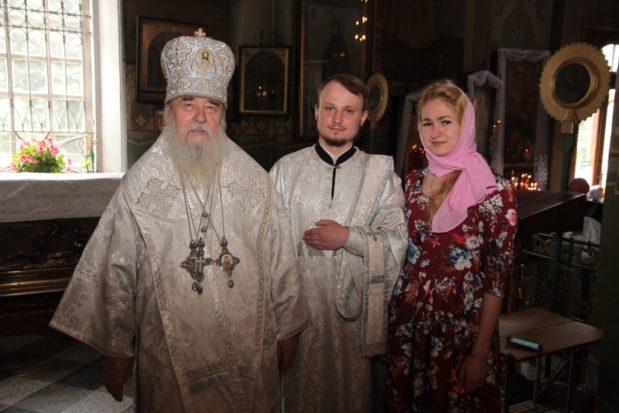 В Неделю 7-ю по Пасхе митрополит Ириней совершил диаконскую хиротонию в Свято-Троицком кафедральном соборе г. Днепра