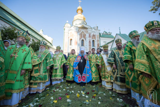 Иерархи Днепропетровской епархии поздравили Предстоятеля Украинской Православной Церкви с днем тезоименитства