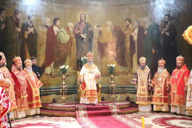Митрополит Ириней принял участие в  праздновании Собора святых Слободского края в Харькове