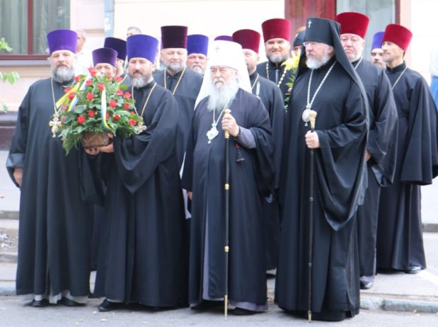 Архипастыри и духовенство Днепропетровской епархии приняли участие в торжествах, посвященных Дню Конституции Украины
