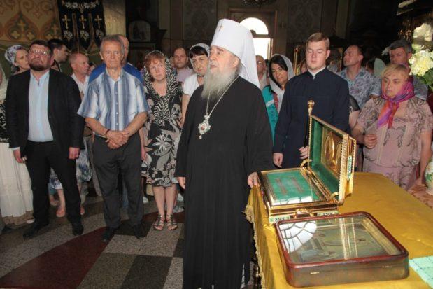 В Неделю 6-ю по Пятидесятнице митрополит Ириней совершил Литургию в Свято-Троицком кафедральном соборе г. Днепра