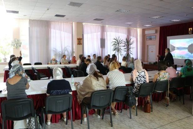 В административном здании Днепропетровской епархии прошел практикум для преподавателей воскресных школ