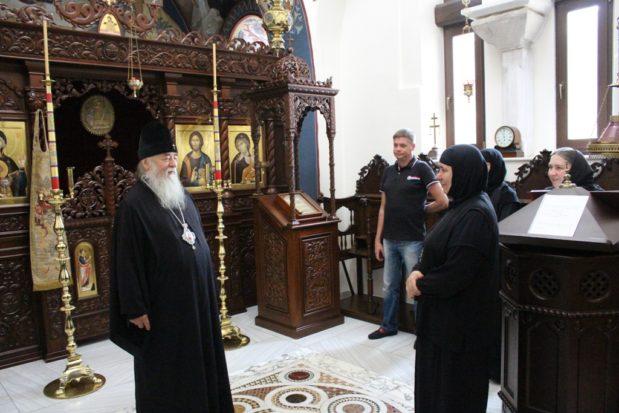 Митрополит Ириней побывал в Ольшанке